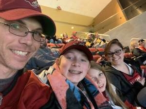 Joshua attended Arizona Coyotes vs. Pittsburgh Penguins - NHL on Jan 12th 2020 via VetTix