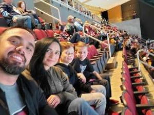 Jacob attended Arizona Coyotes vs. Pittsburgh Penguins - NHL on Jan 12th 2020 via VetTix