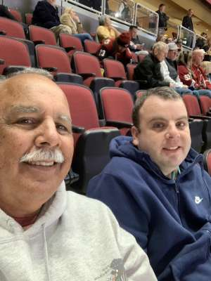 Steve attended Arizona Coyotes vs. Pittsburgh Penguins - NHL on Jan 12th 2020 via VetTix