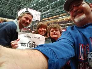Howard attended Arizona Coyotes vs. Pittsburgh Penguins - NHL on Jan 12th 2020 via VetTix