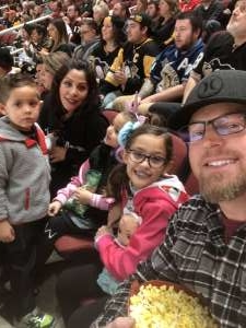 Kent attended Arizona Coyotes vs. Pittsburgh Penguins - NHL on Jan 12th 2020 via VetTix