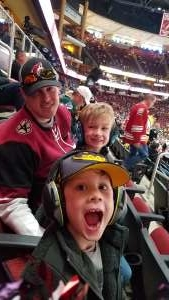 Chris attended Arizona Coyotes vs. Pittsburgh Penguins - NHL on Jan 12th 2020 via VetTix