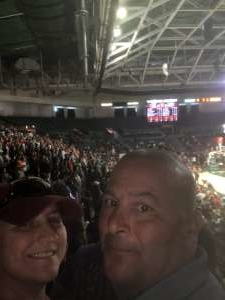 Kimberly attended Miami Hurricanes vs. Florida State - NCAA Men's Basketball on Jan 18th 2020 via VetTix