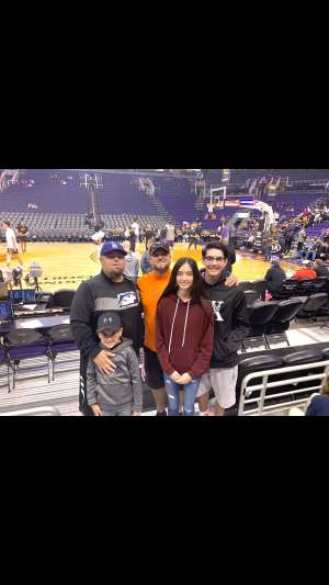 Brian attended Phoenix Suns vs. Charlotte Hornets - NBA on Jan 12th 2020 via VetTix
