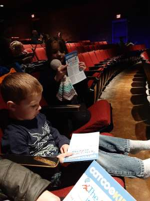 Travis attended Dr. Seuss's The Cat in the Hat on Jan 17th 2020 via VetTix