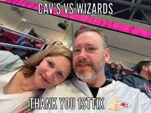 John attended Cleveland Cavaliers vs. Washington Wizards - NBA on Jan 23rd 2020 via VetTix