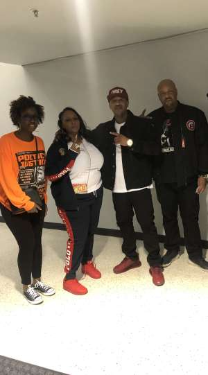 B attended Nas X Wu Tang Clan + Too Short on Feb 21st 2020 via VetTix
