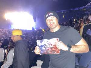 Rich attended Nas X Wu Tang Clan + Too Short on Feb 21st 2020 via VetTix