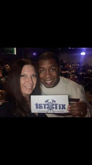 Fadil attended Loonees Comedy Corner: Veterans of Comedy Show on Jan 18th 2020 via VetTix