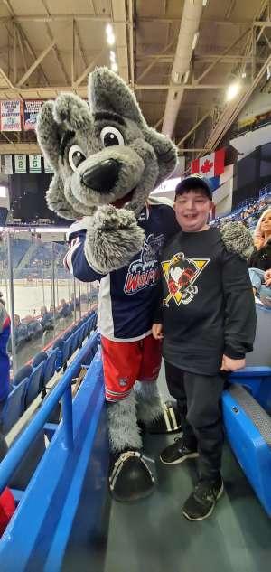 Erwin attended Hartford Wolf Pack vs. Wilkes-Barre/Scanton Penguins - AHL on Feb 12th 2020 via VetTix