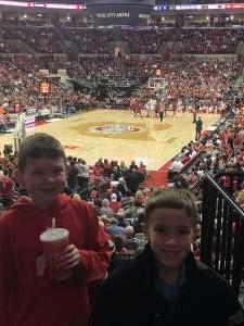 Joey attended Ohio State Buckeyes vs. Nebraska Cornhuskers - NCAA Men's Basketball on Jan 14th 2020 via VetTix