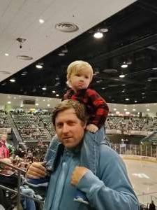 Ryan attended Tucson Roadrunners vs. Stockton Heat - AHL - Military Appreciation Night on Feb 21st 2020 via VetTix