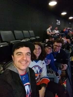 Daniel attended New York Islanders vs. Detroit Red Wings - NHL on Jan 14th 2020 via VetTix