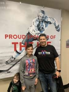 Carlos attended Florida Panthers vs. Los Angeles Kings - NHL on Jan 16th 2020 via VetTix