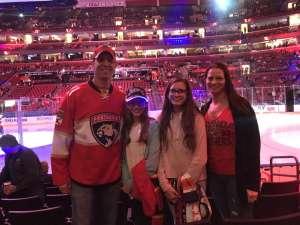 Marc attended Florida Panthers vs. Los Angeles Kings - NHL on Jan 16th 2020 via VetTix