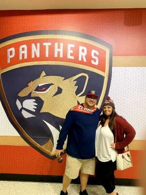 Jordan attended Florida Panthers vs. Los Angeles Kings - NHL on Jan 16th 2020 via VetTix