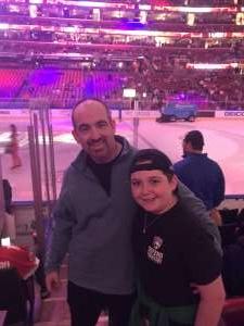 Patrick attended Florida Panthers vs. Los Angeles Kings - NHL on Jan 16th 2020 via VetTix