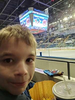 Clay attended Springfield Thunderbirds vs. Hershey Bears - AHL on Jan 22nd 2020 via VetTix