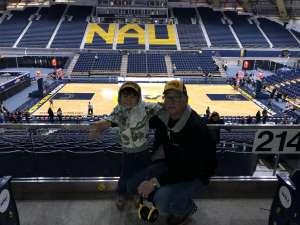 Paul attended Northern Arizona University Lumberjacks vs. Southern Utah - NCAA Men's Basketball on Feb 15th 2020 via VetTix