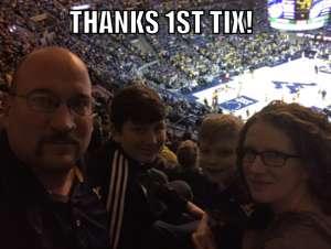 Graig attended West Virginia Mountaineers vs. Texas Longhorns - NCAA Men's Basketball on Jan 20th 2020 via VetTix