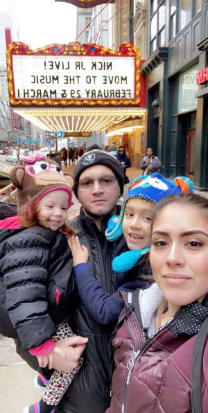 Tito attended Nick Jr. Live! Move to the Music on Mar 1st 2020 via VetTix