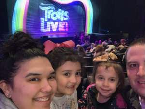 Stefan attended Trolls Live! on Feb 9th 2020 via VetTix