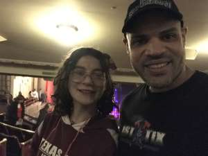 Hiram attended Walk Off the Earth on Feb 18th 2020 via VetTix