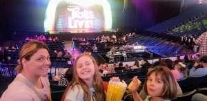 Beth attended Trolls Live! on Feb 29th 2020 via VetTix