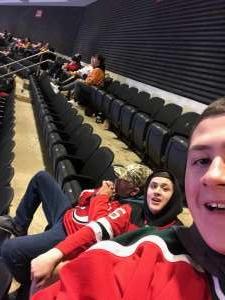 Theresa attended New Jersey Devils vs. Nashville Predators - NHL on Jan 30th 2020 via VetTix
