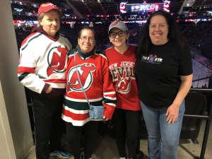 Tami Jean attended New Jersey Devils vs. Nashville Predators - NHL on Jan 30th 2020 via VetTix