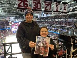 jordan attended New Jersey Devils vs. Nashville Predators - NHL on Jan 30th 2020 via VetTix