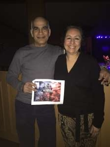 Peter attended The Orchestra on Jan 24th 2020 via VetTix