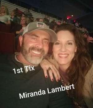 Pete attended Miranda Lambert: Wildcard Tour 2020 on Jan 23rd 2020 via VetTix
