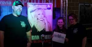 Ronnie attended Miranda Lambert: Wildcard Tour 2020 on Jan 23rd 2020 via VetTix