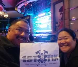 ARMANDO attended UFC 246 Viewing Party on Jan 18th 2020 via VetTix