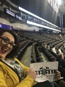 Walter attended Jacksonville Icemen vs. South Carolina Stingrays - ECHL on Feb 16th 2020 via VetTix