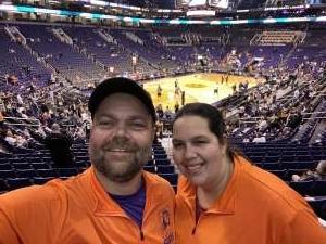 John attended Phoenix Suns vs. San Antonio Spurs - NBA on Jan 20th 2020 via VetTix