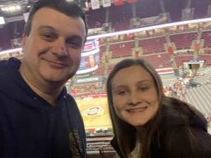 David attended Ohio State Buckeyes vs. Rutgers Scarlet Knights - NCAA Men's Basketball on Feb 12th 2020 via VetTix