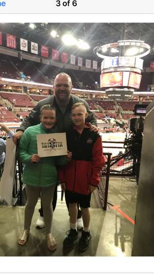 Jacob Jenkins attended Ohio State Buckeyes vs. University of Illinois Fighting Illini - NCAA Mens Basketball on Mar 5th 2020 via VetTix