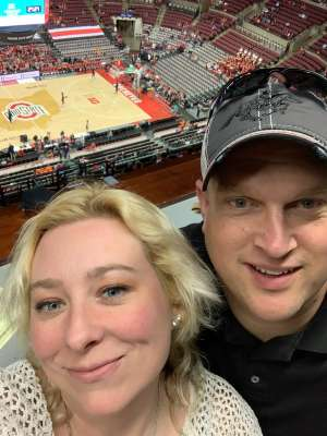 John attended Ohio State Buckeyes vs. University of Illinois Fighting Illini - NCAA Mens Basketball on Mar 5th 2020 via VetTix