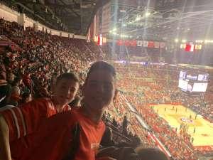JC attended Ohio State Buckeyes vs. University of Illinois Fighting Illini - NCAA Mens Basketball on Mar 5th 2020 via VetTix