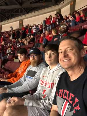 Kurt  attended Ohio State Buckeyes vs. University of Illinois Fighting Illini - NCAA Mens Basketball on Mar 5th 2020 via VetTix