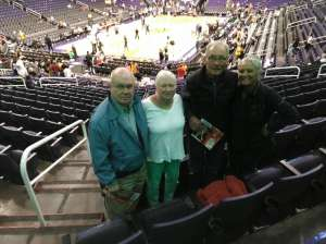 Richard attended Phoenix Suns vs. Indiana Pacers - NBA on Jan 22nd 2020 via VetTix