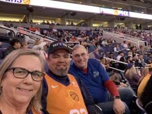 Jack attended Phoenix Suns vs. Indiana Pacers - NBA on Jan 22nd 2020 via VetTix