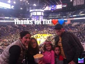 Kent attended Phoenix Suns vs. Indiana Pacers - NBA on Jan 22nd 2020 via VetTix