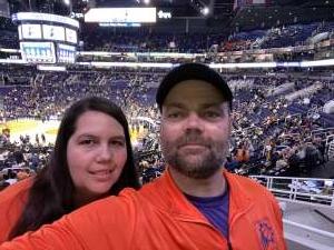 John attended Phoenix Suns vs. Indiana Pacers - NBA on Jan 22nd 2020 via VetTix