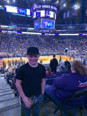 Ryan attended Phoenix Suns vs. Indiana Pacers - NBA on Jan 22nd 2020 via VetTix