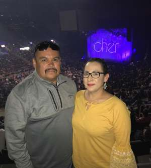 Roberto attended Cher: Here We Go Again Tour on Mar 8th 2020 via VetTix