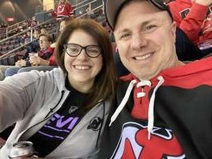 Allison attended New Jersey Devils vs. Montreal Canadiens - NHL on Feb 4th 2020 via VetTix
