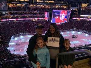 Jeff attended Arizona Coyotes vs. New York Islanders - NHL on Feb 17th 2020 via VetTix